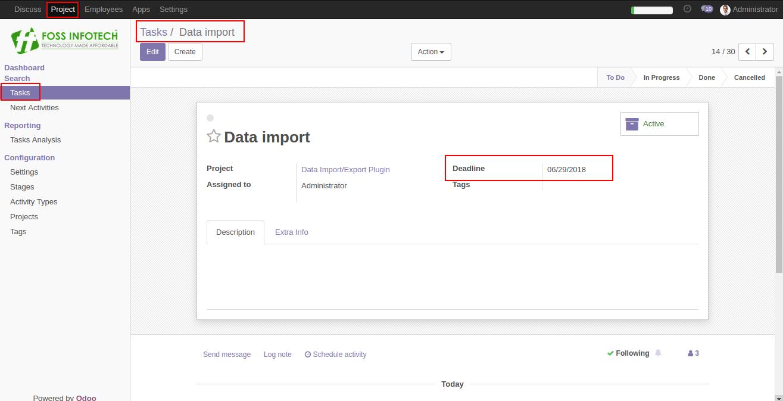 Escalation Mail – FOSS INFOTECH – Open Source Implementation