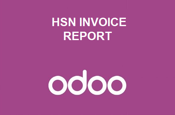 HSN Invoice Report