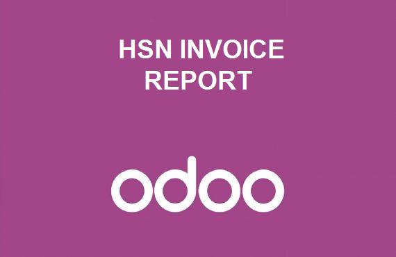 HSN Invoice Report