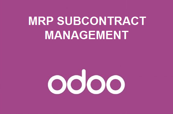MRP Subcontract Management