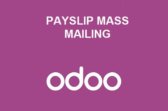 Payslip Mass Mailing